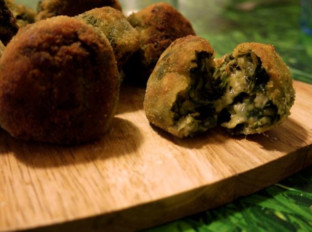 Recetas De Cocina Con Espinacas   Croquetas De Espinacas Queso De Cabra Y Anacardos Recetas De