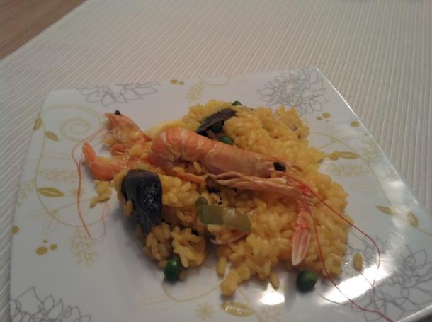 Paella de pescado recetas de cocina en kukers - Paella de pescado ...