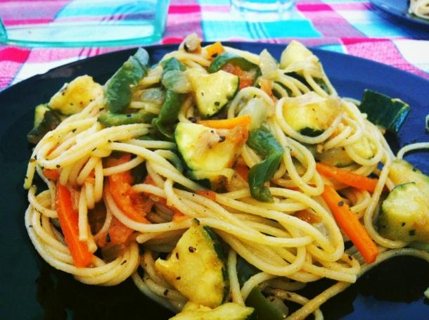 Espaguetis Con Verduras Recetas De Cocina En Kukers