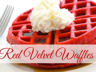 RED VELVET WAFFLES RECIPE AT HARSHA